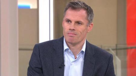 Jamie Carragher sarankan Manchester City untuk mewaspadai Manchester United. - INDOSPORT
