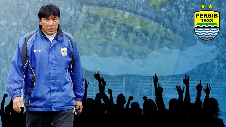 Robby Darwis legenda Persib Bandung. Copyright: INDOSPORT