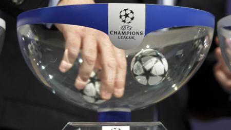 Ilustrasi pengundian Liga Champions. - INDOSPORT