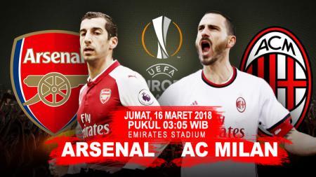 Prediksi Arsenal vs AC Milan. - INDOSPORT