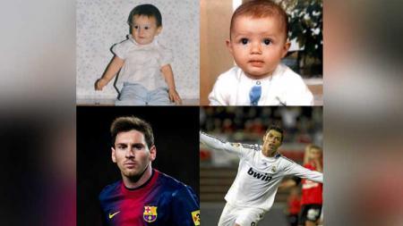 Transformasi Messi-Ronaldo. - INDOSPORT