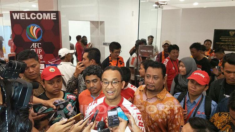 Pasca laga Persija vs Song Lam Nghe An Copyright: INDOSPORT/Zainal Hasan