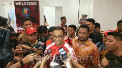 Indosport - Pasca laga Persija vs Song Lam Nghe An