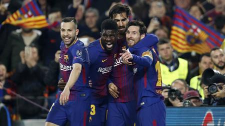 Lionel Messi dan kawan-kawan. - INDOSPORT