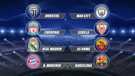8 Tim Perempat Final Liga Champions - INDOSPORT