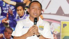 Indosport - Direktur Utama PT Persib Bandung Bermartabat (PBB), Glenn Sugita.