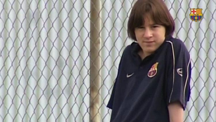 Messi sewaktu kecil Copyright: internet