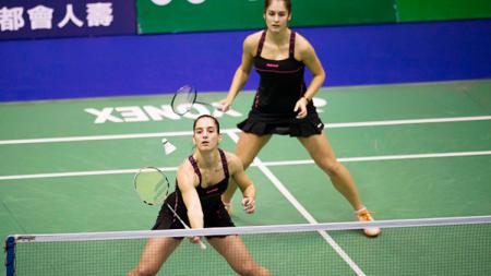 Ganda putri Bulgaria, Gabriela Stoeva dan Stefani Stoeva. - INDOSPORT