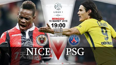 Prediksi OGC Nice vs Paris Saint-Germain - INDOSPORT