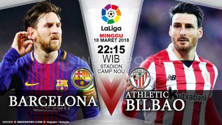 Prediksi Barcelona vs Athletic Bilbao - INDOSPORT