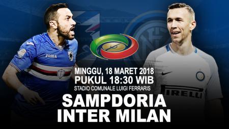 Prediksi Sampdoria vs Inter Milan. - INDOSPORT