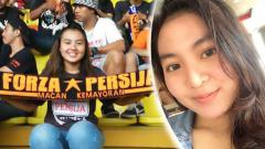 Indosport - Aluvi Zakiyah, Jak Angel Bekasi.
