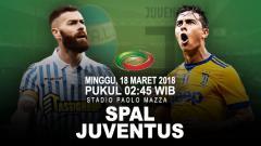 Indosport - Prediksi Spal vs Juventus.
