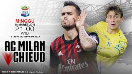 Prediksi AC Milan vs Chievo - INDOSPORT