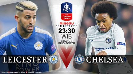 Prediksi Leicester City vs Chelsea. - INDOSPORT