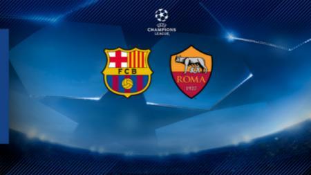 Barcelona vs AS Roma - INDOSPORT
