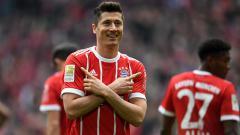 Indosport - Robert Lewandowski, penyerang Bayern Munchen.