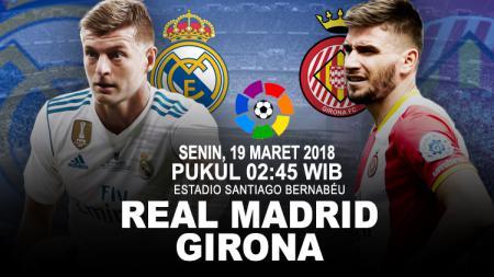 Prediksi Real Madrid vs Girona. - INDOSPORT