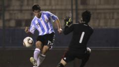Indosport - Jonathan Bauman saat memperkuat Timnas Argentina U-20