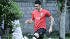 Indosport - Milos Krkotic, pemain baru Bali United