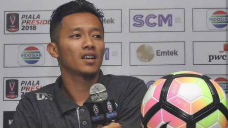 Dendi Santoso, kapten tim Arema FC - INDOSPORT