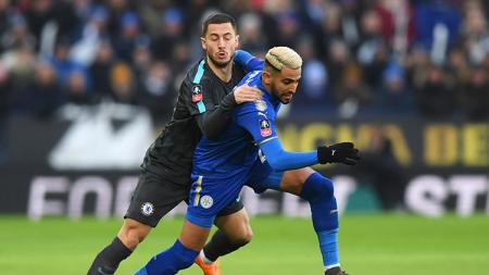 Penampilan ciamik Riyad Mahrez sepanjang musim 2015/16 berhasil mengantarkan Leicester City menjadi kampiun Liga Inggris untuk kali pertama. - INDOSPORT