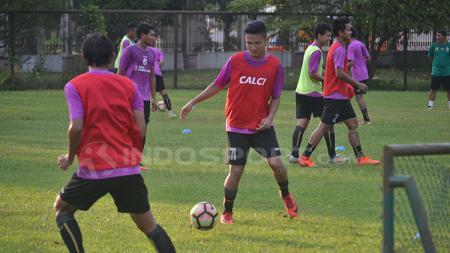 Sriwijaya FC dalam ajang latihan. - INDOSPORT