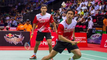 Mohammad Ahsan/Hendra Setiawan. - INDOSPORT