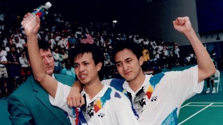 Ricky Subagja/Rexy Mainaky. - INDOSPORT