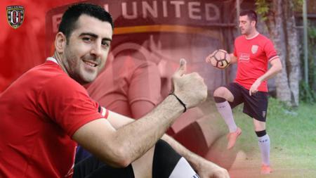 Milos Krkotic pemain baru Bali United. - INDOSPORT