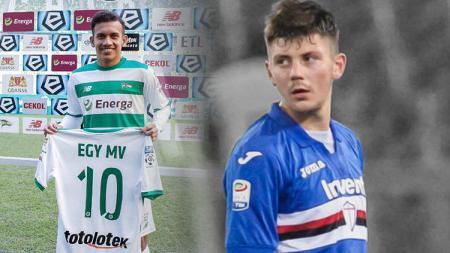 Diprediksi kalau 3 klub Liga 1 berikut ini bisa saja datangkan striker Eropa pencibir bintang Timnas Indonesia U-23 Egy Maulana Vikri, Dawid Kownacki. - INDOSPORT