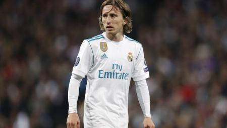 Luka Modric, playmaker Real Madrid. - INDOSPORT