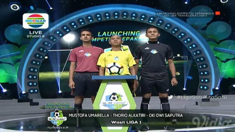 Wasit Liga 1. Copyright: Indosiar