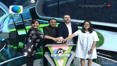 Acara Launching Liga 1 2018. - INDOSPORT