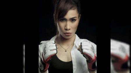 Atlet bela diri wanita Indonesia, Linda Darrow. - INDOSPORT
