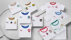 Indosport - Jersey timnas untuk Piala Dunia Rusia 2018.