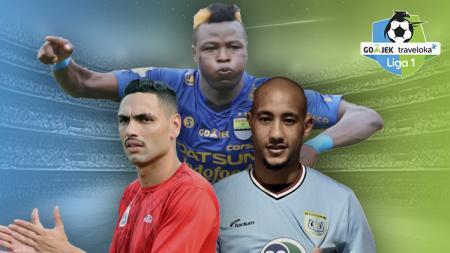 Jaimerson da Silva Xavier, Ezechiel N'Douassel, dan Loris Arnaud. - INDOSPORT
