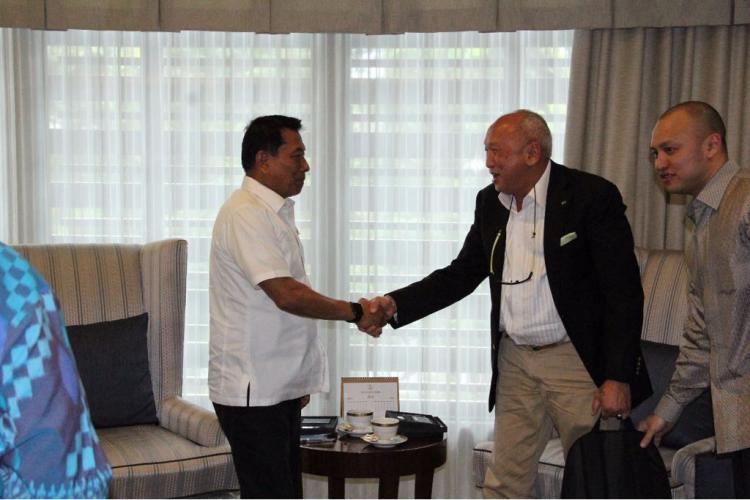 Tinton Soeprapto temui Kepala Staff Kepresidenan Moeldoko Copyright: Istimewa