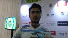 Indosport - Muhammad Rafli, pemain Arema FC.