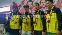 Indosport - Kevin Sanjaya/Marcus Gideon.