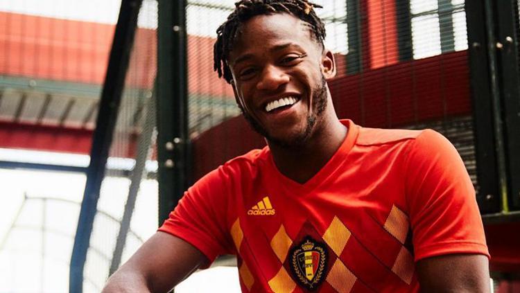 Jersey Home Belgia Piala Dunia 2018 Copyright: Adidas