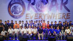 Indosport - Launching Tim Arema FC.