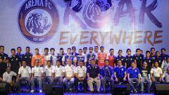 Indosport - Launching Tim Arema FC.