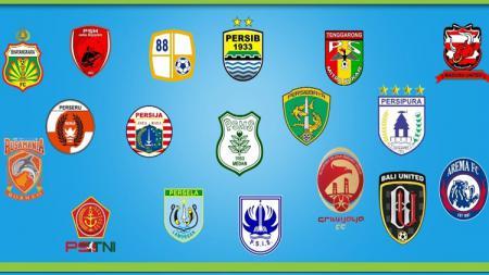 Logo Liga 1 2018 - INDOSPORT