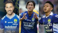 Indosport - 5 Pemain trisula di Liga 1 2018.