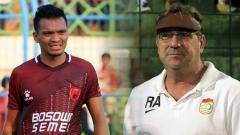Indosport - Ferdinand Sinaga dan Robert Rene Albert