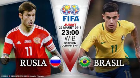 Prediksi Rusia vs Brasil - INDOSPORT