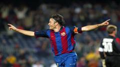 Indosport - Luis Enrique saat berkostum Barcelona