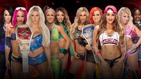 Para pegulat cantik WWE. - INDOSPORT
