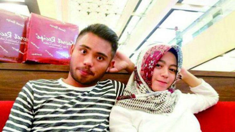 Anugrah Sekar dan Saddil Ramdani. Copyright: Instagram
